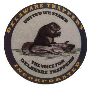 Delaware Trappers Decal